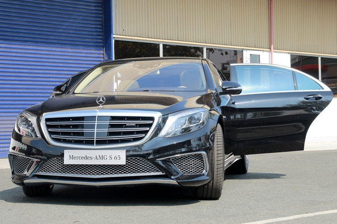Chi tiet Mercedes S65 AMG gia 12,8 ty dong tai Viet Nam hinh anh