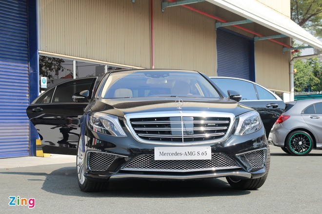 Chi tiet Mercedes S65 AMG gia 12,8 ty dong tai Viet Nam hinh anh 1