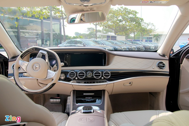 Chi tiet Mercedes S65 AMG gia 12,8 ty dong tai Viet Nam hinh anh 13