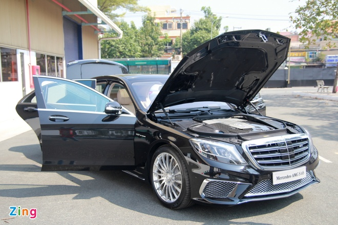 Chi tiet Mercedes S65 AMG gia 12,8 ty dong tai Viet Nam hinh anh 17