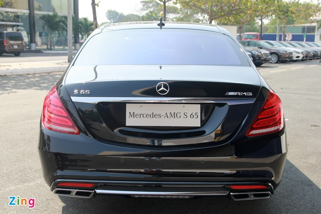 Chi tiet Mercedes S65 AMG gia 12,8 ty dong tai Viet Nam hinh anh 3