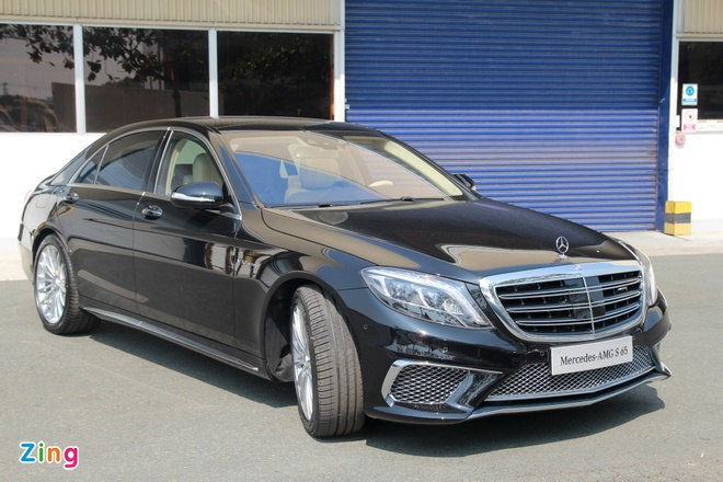 Chi tiet Mercedes S65 AMG gia 12,8 ty dong tai Viet Nam hinh anh 4