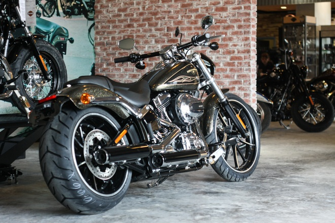 Harley-Davidson Breakout son thu cong gia 1,3 ty ve Viet Nam hinh anh 11