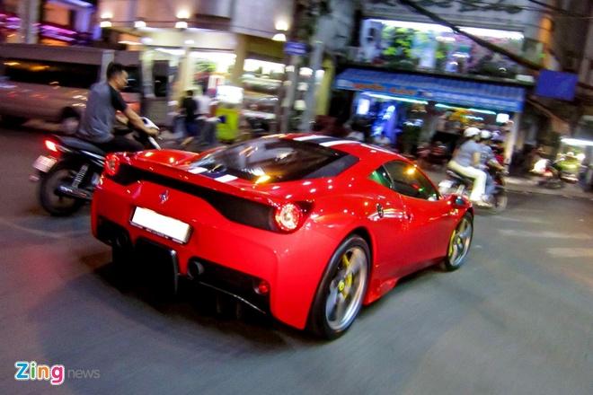 Sieu xe Ferrari 458 Speciale dau tien tai Viet Nam hinh anh 7