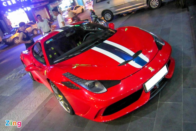 Sieu xe Ferrari 458 Speciale dau tien tai Viet Nam hinh anh 2