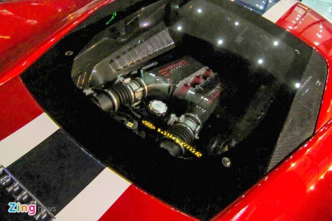 Sieu xe Ferrari 458 Speciale dau tien tai Viet Nam hinh anh 6