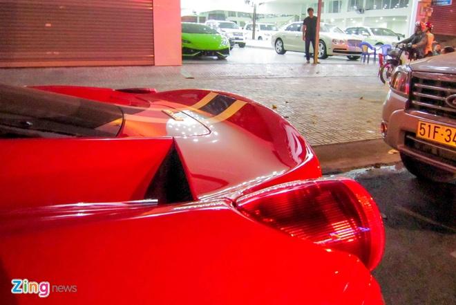 Sieu xe Ferrari 458 Speciale dau tien tai Viet Nam hinh anh 4