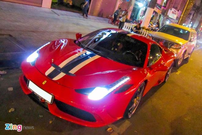 Sieu xe Ferrari 458 Speciale dau tien tai Viet Nam hinh anh 9