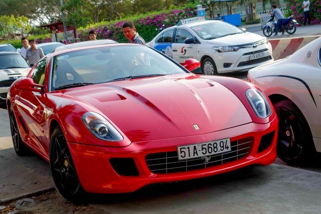 Sieu xe Ferrari 599 doc nhat Viet Nam cua dai gia ca phe hinh anh
