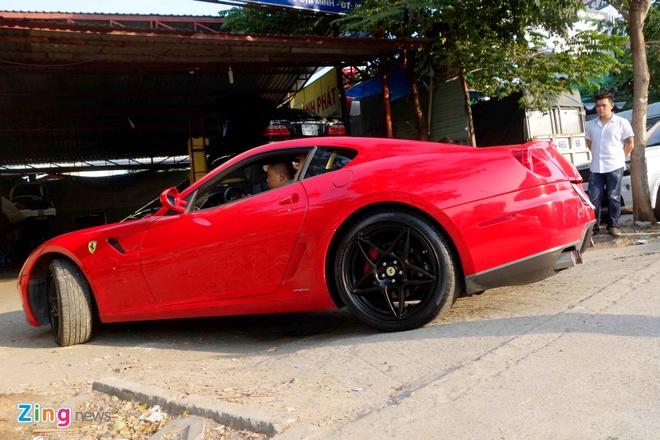 Sieu xe Ferrari 599 doc nhat Viet Nam cua dai gia ca phe hinh anh 10