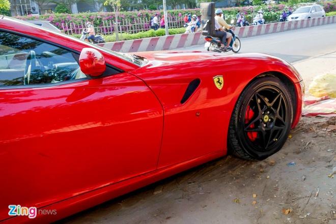 Sieu xe Ferrari 599 doc nhat Viet Nam cua dai gia ca phe hinh anh 5