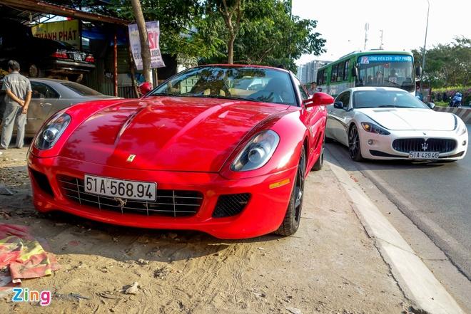 Sieu xe Ferrari 599 doc nhat Viet Nam cua dai gia ca phe hinh anh 6
