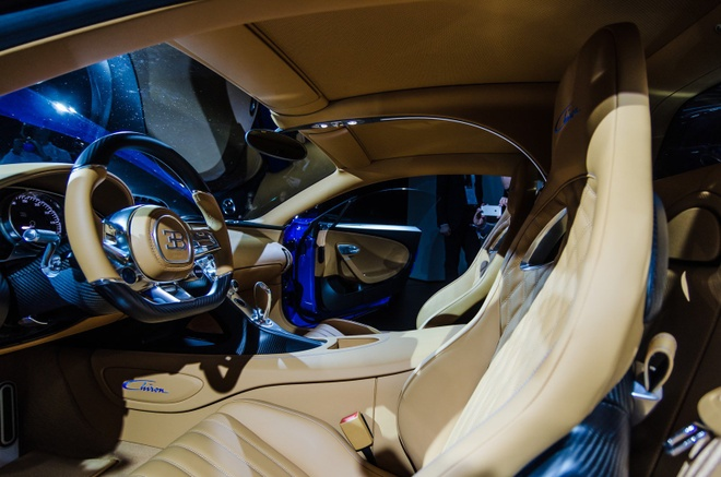 Bugatti Chiron chinh thuc ra mat, manh 1.500 ma luc hinh anh 8