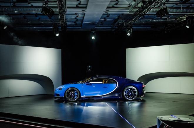 Bugatti Chiron chinh thuc ra mat, manh 1.500 ma luc hinh anh 6