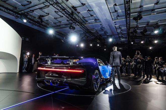 Bugatti Chiron chinh thuc ra mat, manh 1.500 ma luc hinh anh 4