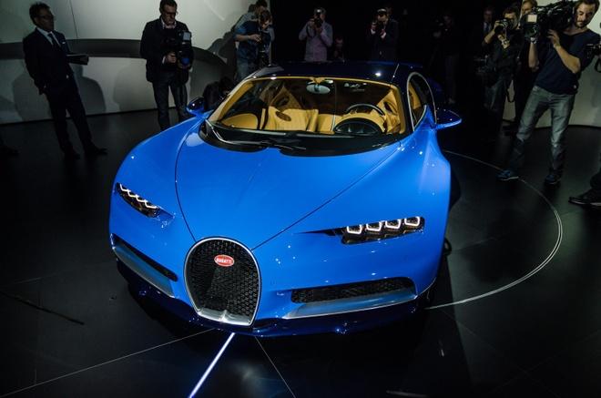 Bugatti Chiron chinh thuc ra mat, manh 1.500 ma luc hinh anh 1