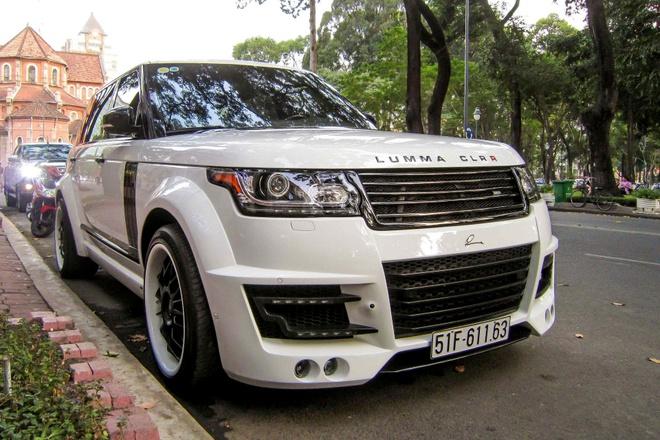 SUV hang sang Land Rover do than rong dau tien o Sai Gon hinh anh