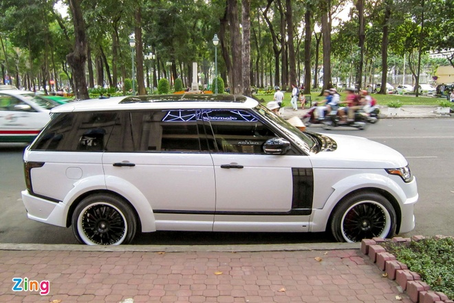 SUV hang sang Land Rover do than rong dau tien o Sai Gon hinh anh 2