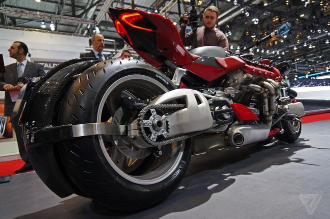 Lazareth LM847 - sieu moto 470 ma luc, gia 200.000 euro hinh anh 3