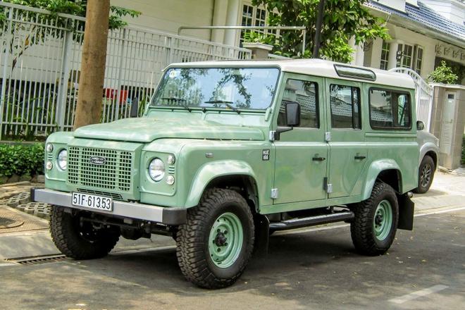 Land Rover Defender ban cuoi cung xuat hien tai Viet Nam hinh anh
