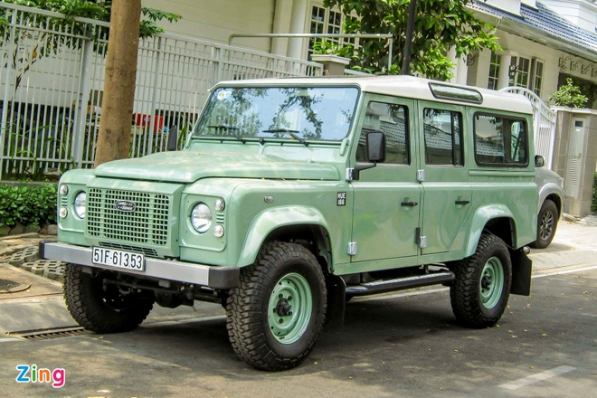 Land Rover Defender ban cuoi cung xuat hien tai Viet Nam hinh anh 1