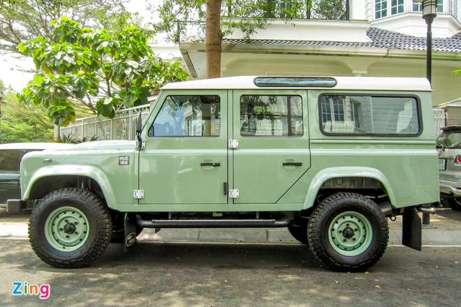 Land Rover Defender ban cuoi cung xuat hien tai Viet Nam hinh anh 3