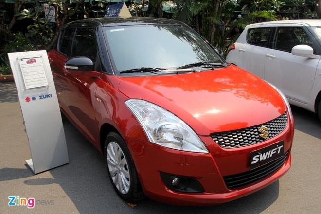 Suzuki Swift ban dac biet gia 575 trieu dong hinh anh 1