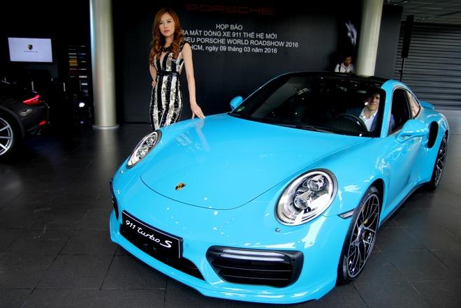 Porsche ra mat 911 Turbo S gia 14,5 ty dong tai Viet Nam hinh anh