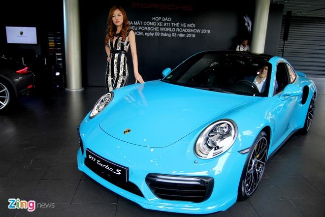 Porsche ra mat 911 Turbo S gia 14,5 ty dong tai Viet Nam hinh anh 1