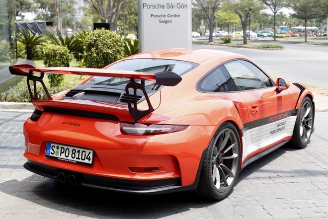 Dan xe Porsche la mat moi ve Viet Nam hinh anh