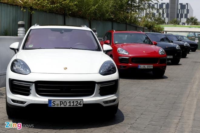 Dan xe Porsche la mat moi ve Viet Nam hinh anh 12