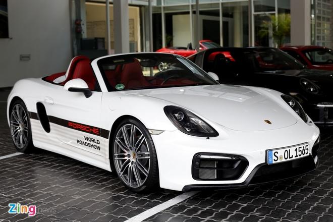 Dan xe Porsche la mat moi ve Viet Nam hinh anh 5