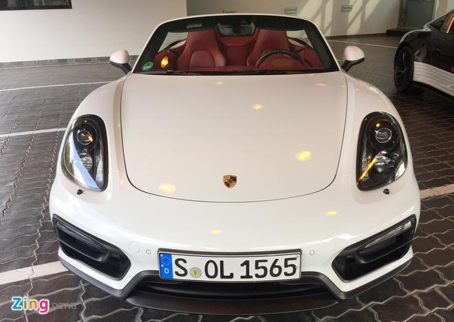 Dan xe Porsche la mat moi ve Viet Nam hinh anh 6