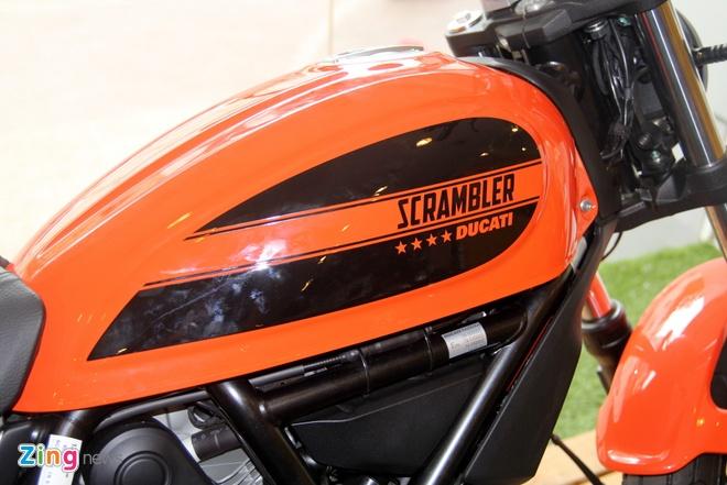 Anh chi tiet Ducati Scrambler re nhat moi ban tai Viet Nam hinh anh 8