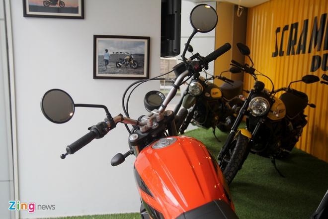 Anh chi tiet Ducati Scrambler re nhat moi ban tai Viet Nam hinh anh 9