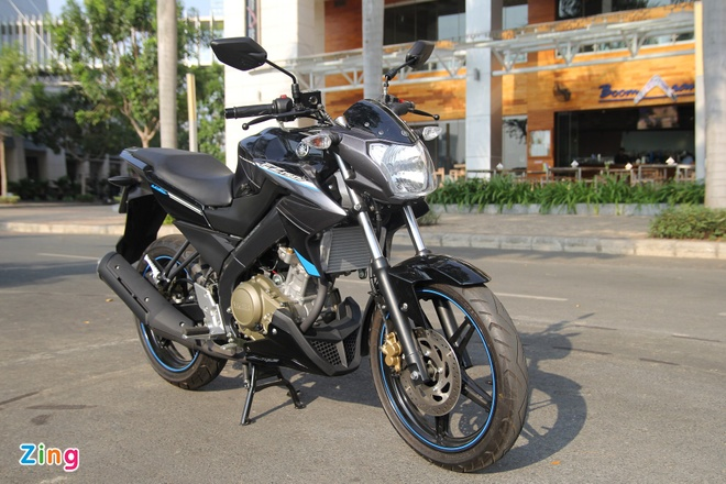 Yamaha FZ150i mau moi o Viet Nam hinh anh 1