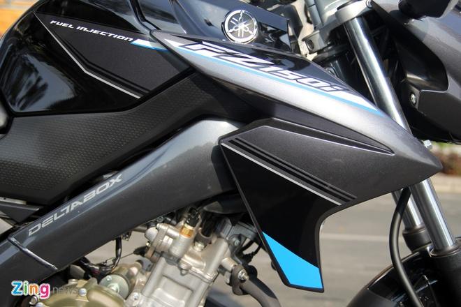 Yamaha FZ150i mau moi o Viet Nam hinh anh 3