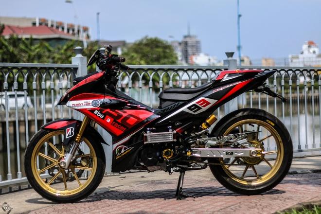 Yamaha Exciter do kieu xe dua cua biker Sai Gon hinh anh 1
