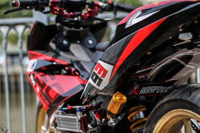 Yamaha Exciter do kieu xe dua cua biker Sai Gon hinh anh 12