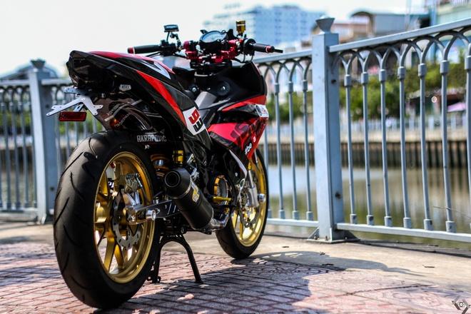 Yamaha Exciter do kieu xe dua cua biker Sai Gon hinh anh 2