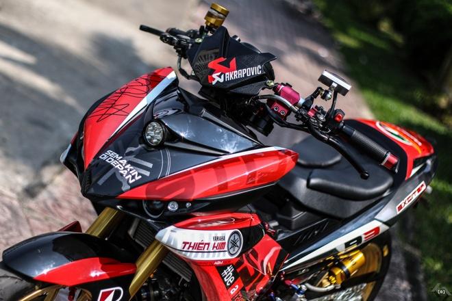 Yamaha Exciter do kieu xe dua cua biker Sai Gon hinh anh 3