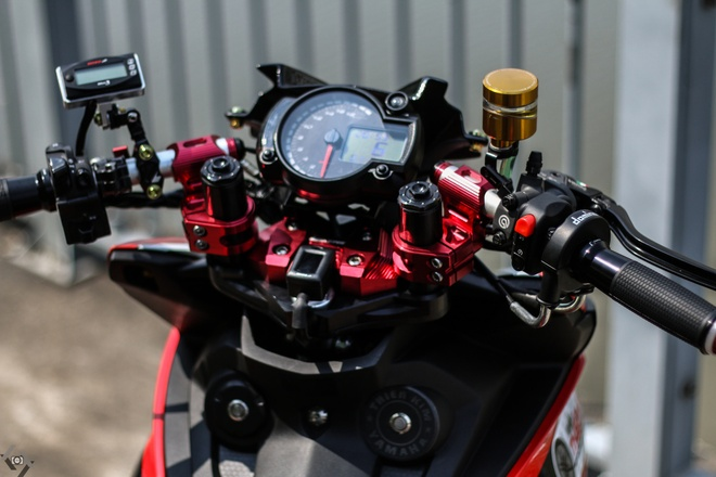 Yamaha Exciter do kieu xe dua cua biker Sai Gon hinh anh 4