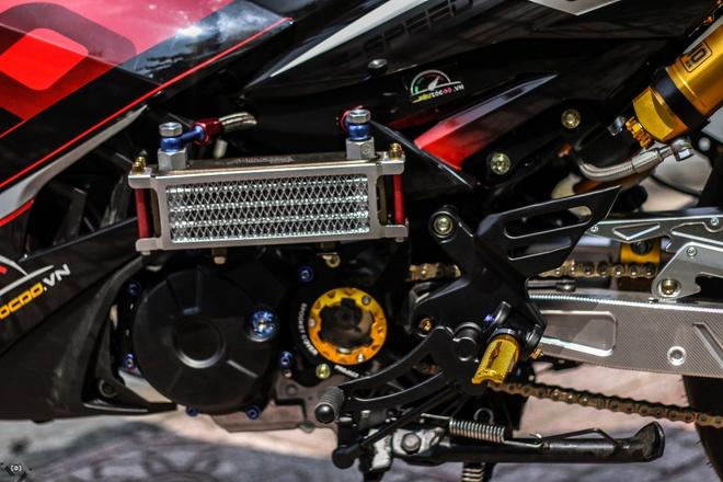 Yamaha Exciter do kieu xe dua cua biker Sai Gon hinh anh 7