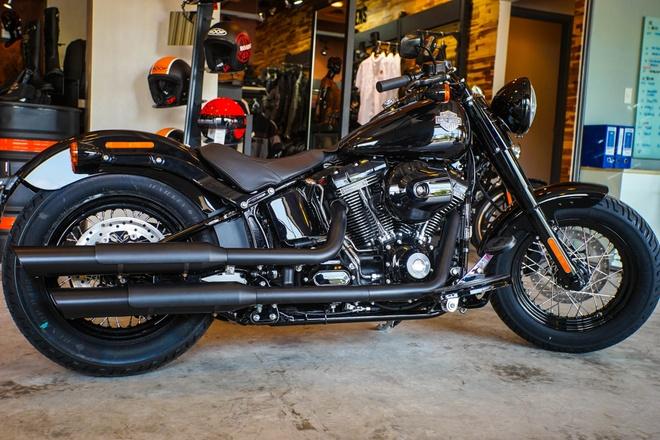 Moto Harley phong cach bobber gia gan 1 ty dong tai Viet Nam hinh anh