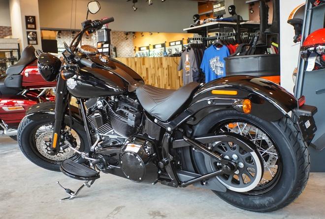 Moto Harley phong cach bobber gia gan 1 ty dong tai Viet Nam hinh anh 2