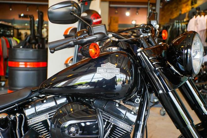 Moto Harley phong cach bobber gia gan 1 ty dong tai Viet Nam hinh anh 5