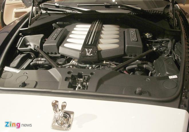 Rolls-Royce Wraith chinh hang dau tien ra bien so TP HCM hinh anh 4
