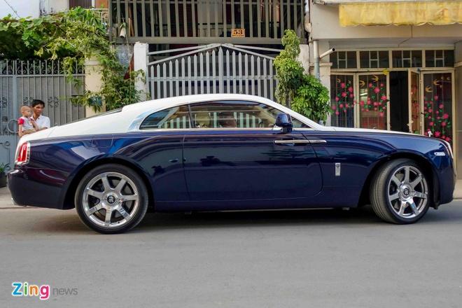 Rolls-Royce Wraith chinh hang dau tien ra bien so TP HCM hinh anh 5