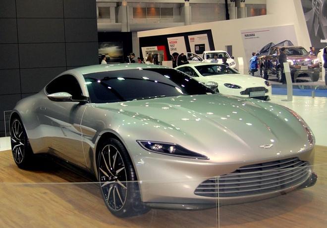 Sieu xe cua James Bond xuat hien tai Bangkok Motor Show hinh anh