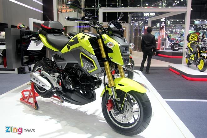 Honda ra mat MSX 2016 tai Thai Lan, gia gan 2.000 USD hinh anh 1